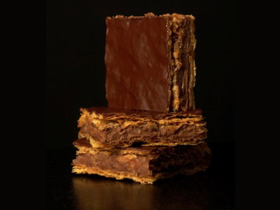 Le millefeuille chocolat