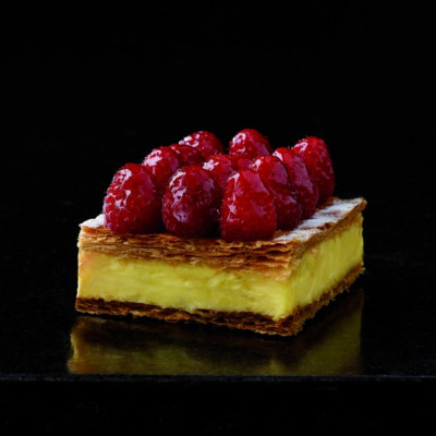 Le mille-feuille framboise