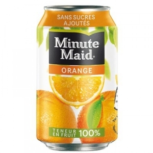 Jus d'orange Minute Maid 33cl