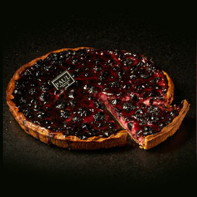 La tarte aux fruits rouges