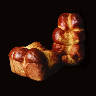 Lot 2 brioches pur beurre